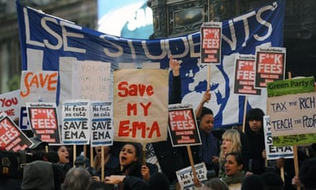 EMA student protest