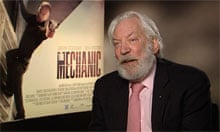 Donald Sutherland on The Mechanic: 'Jason has become an actor' - video