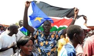 Southern Sudanese celebrate