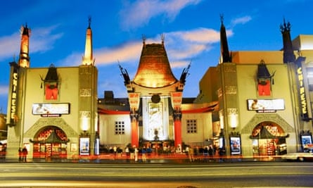 Exterior shot of Grauman's Chinese Theater
