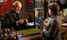 Sir Ben Kingsley and Asa Butterfield in Martin Scorsese's Hugo