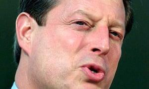 Al Gore in 2000.