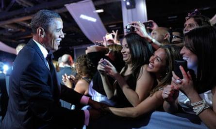Barack Obama and Latino voters