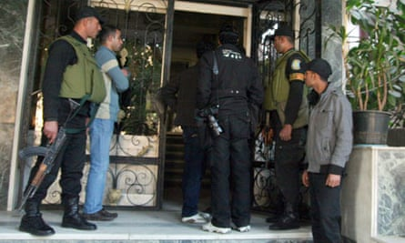 Egypt raids
