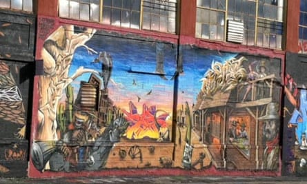 5Pointz, mural by Meres, Cortez and Zeso