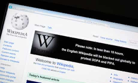 Wikipedia and other sites will 'go dark' and take their sites offline on Wednesday