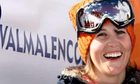 Skier Sarah Burke