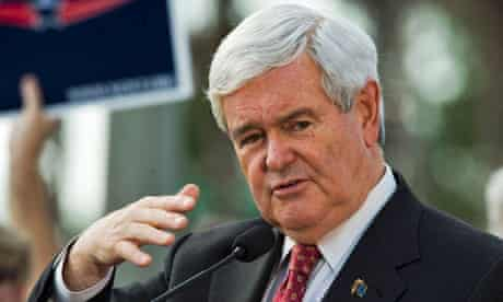 Newt Gingrich in Tampa