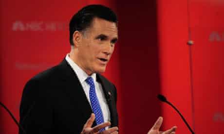 Mitt Romney, GOP debate