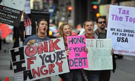 Occupy Chicago protesters in October