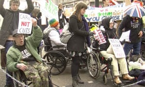 Disabled protest hits Oxford Circus