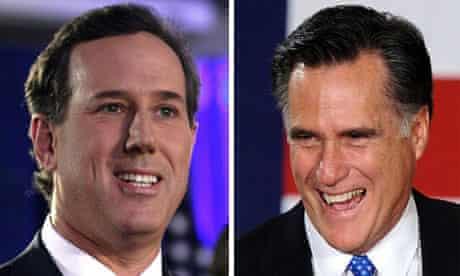 Iowa caucuses: Rick Santorum or Mitt Romney?