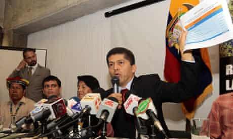 Chevron fined 9bn dollars in Ecuador