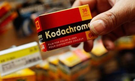 Eastman Kodak once sold 90% of the world's film