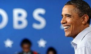 Barack Obama, jobs figures