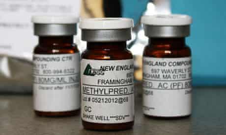 Meningitis outbreak, vial