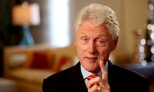 Bill Clinton in an Obama election campaign video