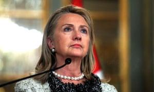 Hillary Clinton in Peru