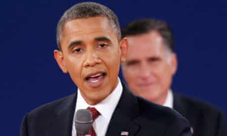 Barack Obama: polls suggested the president won the second debate