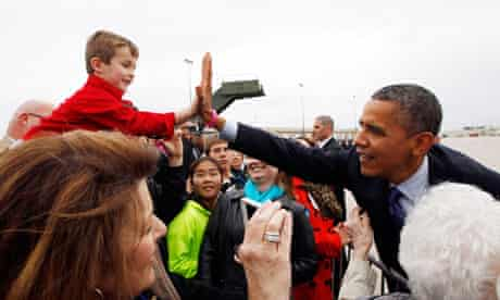 Barack Obama in Iowa