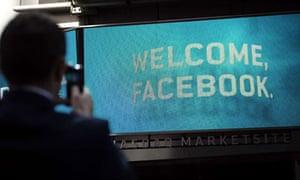 Facebook at the Nasdaq