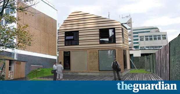Plan to build UK's first building entirely out of waste | Environment | The Guardian