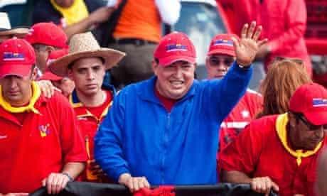 HUGO CHAVEZ IN CAMPAIGN IN SABANETA