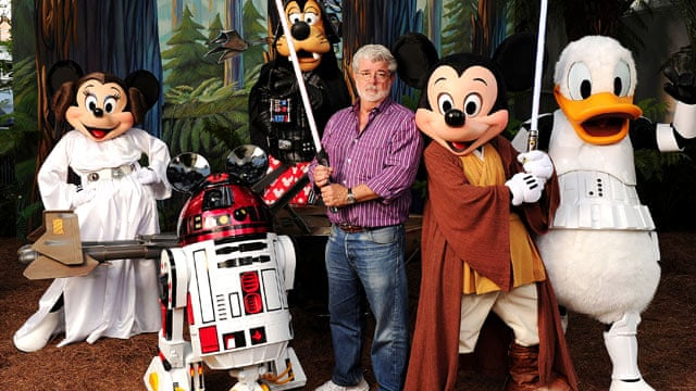 Disney to buy Star Wars production company Lucasfilm for $4bn | Film