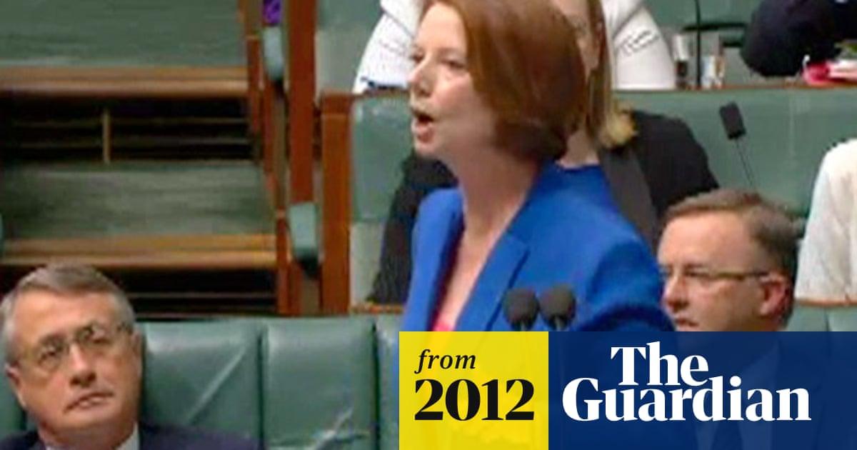 Julia Gillard speech prompts dictionary to change 'misogyny