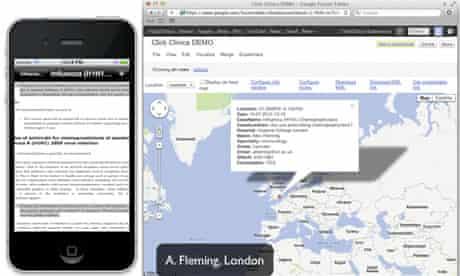 Click Clinica app demo - video