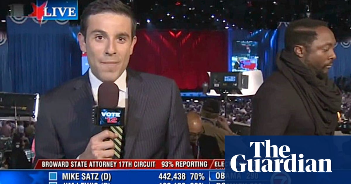 Will i am mistaken for Wyclef Jean and Wale by news reporter – video