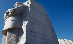 Martin Luther King memorial in Washington