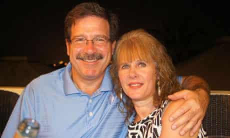 Dawn Sherlach with her husband Mark