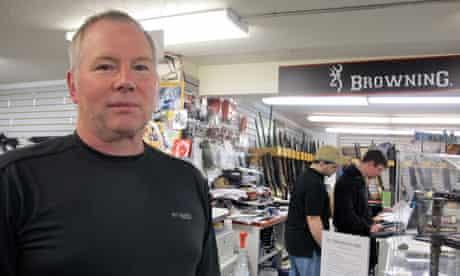 Karl Durkheimer, Portland gun shop