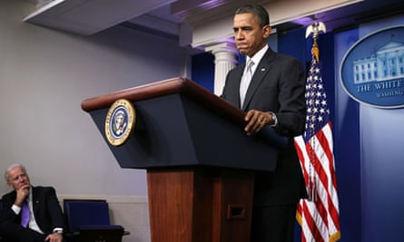 Obama at the White House press conference