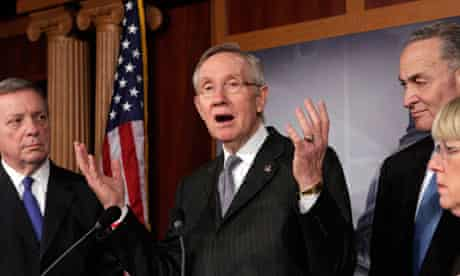 Harry Reid, Senate majority leader