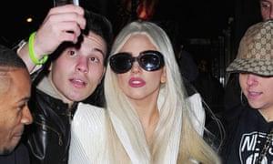Lady Gaga in New York in December