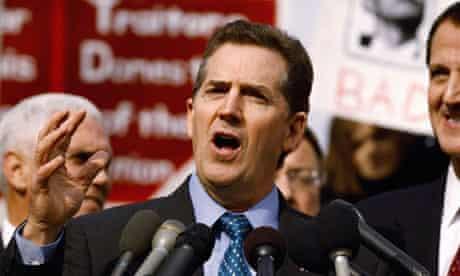 Republican senator Jim DeMint