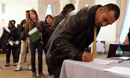 Unemployment figures, US