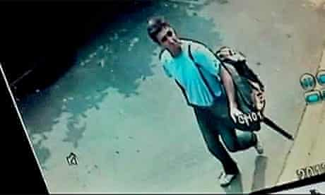 CCTV Bangkok explosion