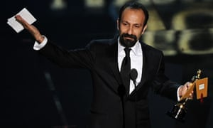 Oscars 2012: Asghar Farhadi, who's film, A Separation, won the best foreign language film