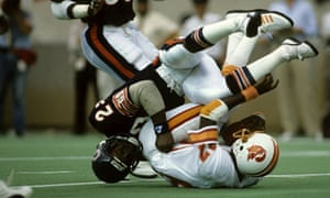 Chicago Bears safety Dave Duerson in 1984