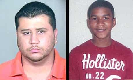 George Zimmerman and Trayvon Martin