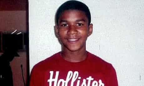 File picture of Trayvon Martin