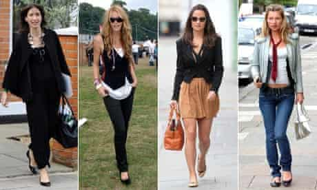 Samantha Cameron, Elle MacPherson, Kate Moss, Pippa Middleton,
