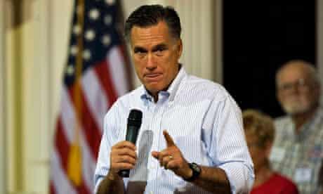 Mitt Romney in St Petersburg, Florida