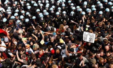 Nato summit: Chicago crowds