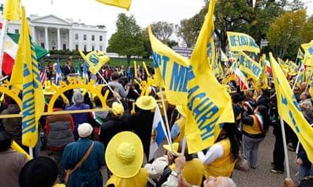 MEK protests