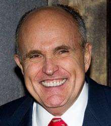 Former New York mayor Rudy Giuliani