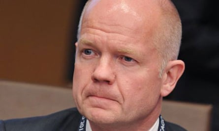 William Hague has promised tough talk with the Russians over the Houla massacre in Syria